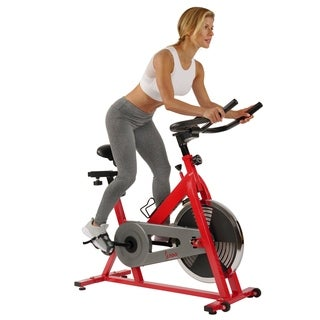 Sunny Health Fitness Heavy-Duty Indoor Cycling Bike