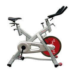 Sunny Health Fitness Deluxe Indoor Cycling Bike