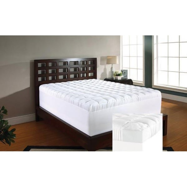 Slumber Solutions 3-inch Twin/ Full-size Memory Foam and 1.5-inch Fiber Mattress Topper