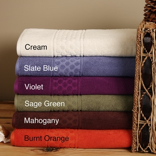 High/ Low Dot 6-piece Bath Sheet Set