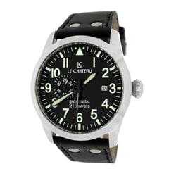Le Chateau Men's Black Dynamo Automatic Men's Watch