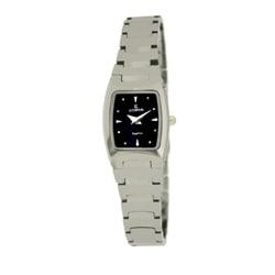 Le Chateau Women's Classica All Tungsten Square Watch