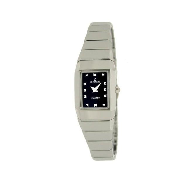 Le Chateau Women's Classica All Tungsten Black/ Silver Watch