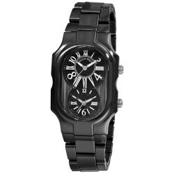 Philip Stein Women's 'Signature' Black Ceramic Watch