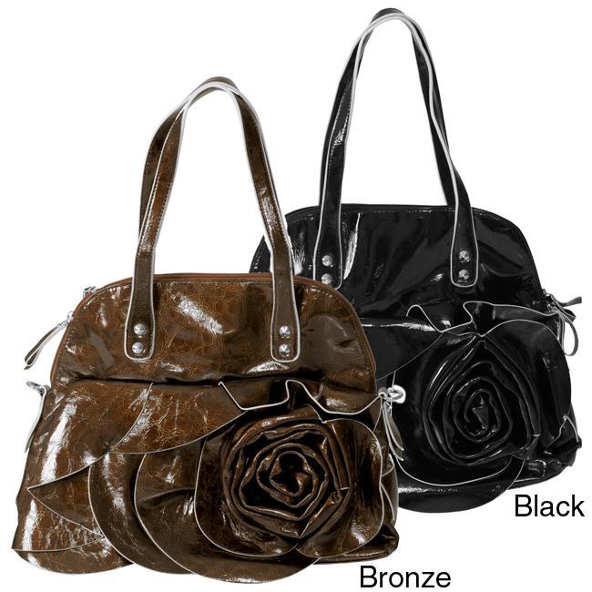 Hailey Jeans Co. Floral Accent Handbag