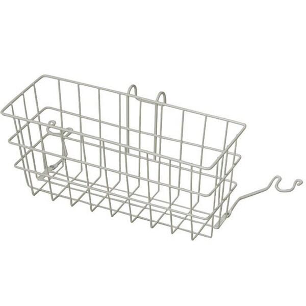 Mabis Rust-resistant Plastic-coated 510-1086-1900 Walker Basket