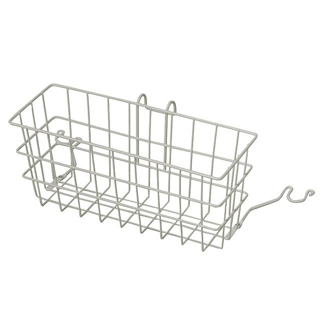 Mabis Rust-resistant Plastic-coated 510-1086-1900 Walker Basket