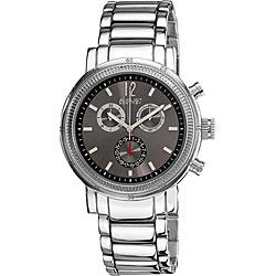 August Steiner Men's Quartz Stainless-Steel Chronograph Watch