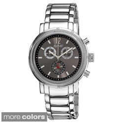 August Steiner Men's Quartz Water-Resistant Chronograph Watch