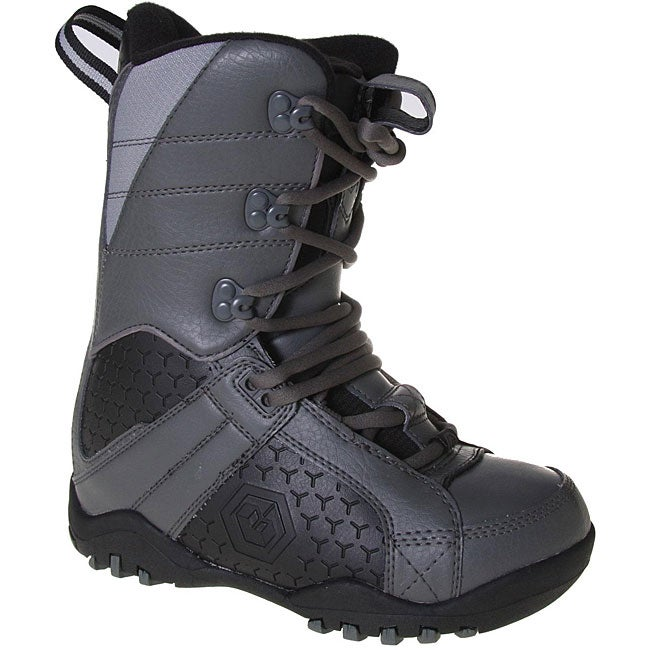 LTD Classic Boy's Grey/ Black Snowboard Boots