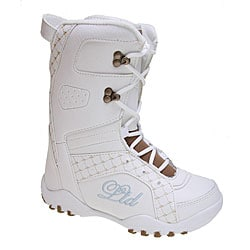 LTD Stratus Girl's White Snowboard Boots