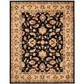 Handmade Heritage Kerman Black/ Gold Wool Rug (12' x 15')