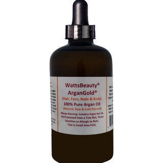 Watts Beauty Moroccan Gold 4-ounce Argan Oil