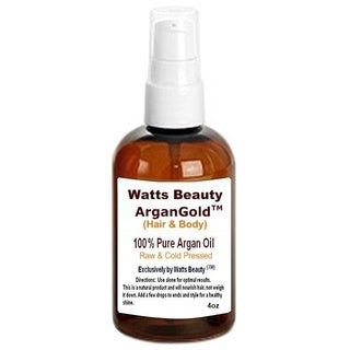 Watts Beauty ArganGold 4-ounce 100-percent Certified Pure Argan Oil