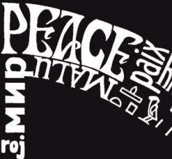 Los Angeles Pop Art Mens Peace V neck Tee