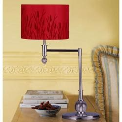 Red Macus 1-light Metal Table Lamp