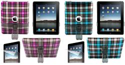 iPad Checker Crystal Case and Accessories Kit