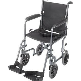 Mabis Ultra Lightweight Titanium Aluminum Transport Chair