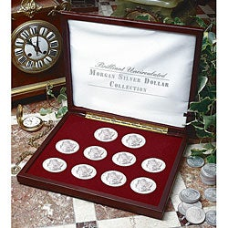 American Coin Treasures Brilliant Uncirculated Morgan Silver Dollar Collection