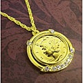 American Coin Treasures Gold-Layered Silver Mercury Dime Pendant