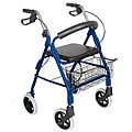 Mabis Lightweight Royal Blue Aluminum Rollator