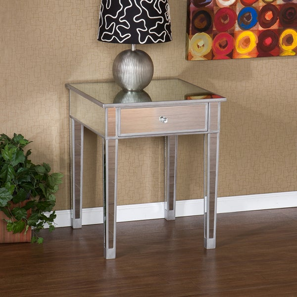 Upton Home Sanira Mirror Side End table