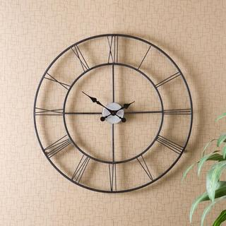 Hartley Black Wall Clock