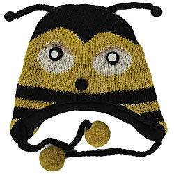 Wool Bee Jungle Beanie (Nepal)