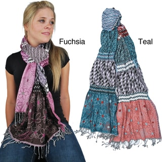 Jacquard Lycra Shawl (India)