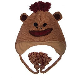 Wool Crazy Monkey Beanie (Nepal)