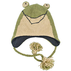 Wool Frog Jungle Beanie (Nepal)