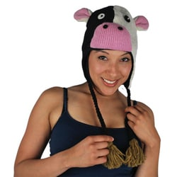 Wool Cow Jungle Beanie (Nepal)