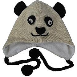 Wool Panda Jungle Beanie (Nepal)