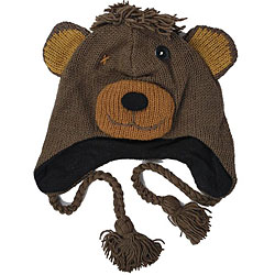 Wool Teddy Jungle Beanie (Nepal)