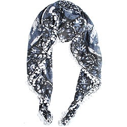 Rayon Printed Square Pom Pom Scarf (India)
