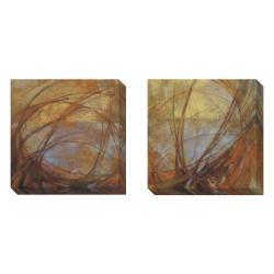 Kim Coulter 'Watermark' 2-piece Art Set