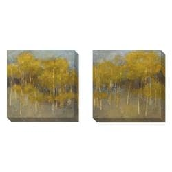 Kim Coulter 'At Ease' 2-piece Art Set