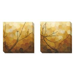 Sean Jacobs 'Autumn Shade' 2-piece Gallery Wrapped Canvas Art Set