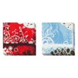 Darvin Jones 'Silhouette in Red and Blue' 2-piece Gallery-wrapped Canvas Art Set