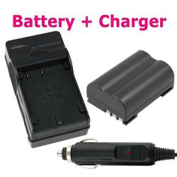 Compatible Lithium-ion Battery/ Battery Charger for Olympus EVOLT E-510