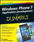 Windows Phone 7 Application Development for Dummies (Paperback)