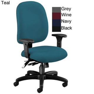 OFM Ergonomic Adjustable Executive Task Chair with ComfySeat