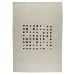 Contemporary Soumak Weave Mosa Wool Rug (6'6 x 9'9)