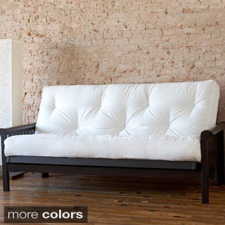 Full Size 6-inch Futon Mattress Without Frame
