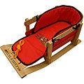 Flexible Flyer Padded Wood Toddler's Sled
