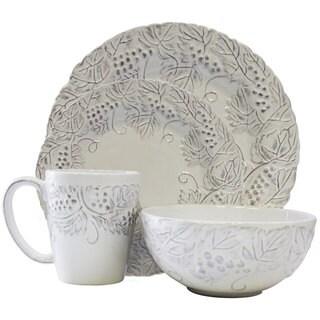 American Atelier 16-piece Bianca Grapevine Dinnerware Set