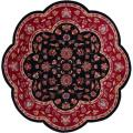 Hand-tufted Red Wool Rug (7'9 x 7'9)