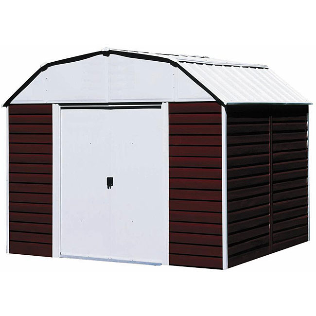 Arrow Red Barn Steel Shed
