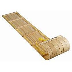 Flexible Flyer Canadian 6-foot Padded Toboggan Sled