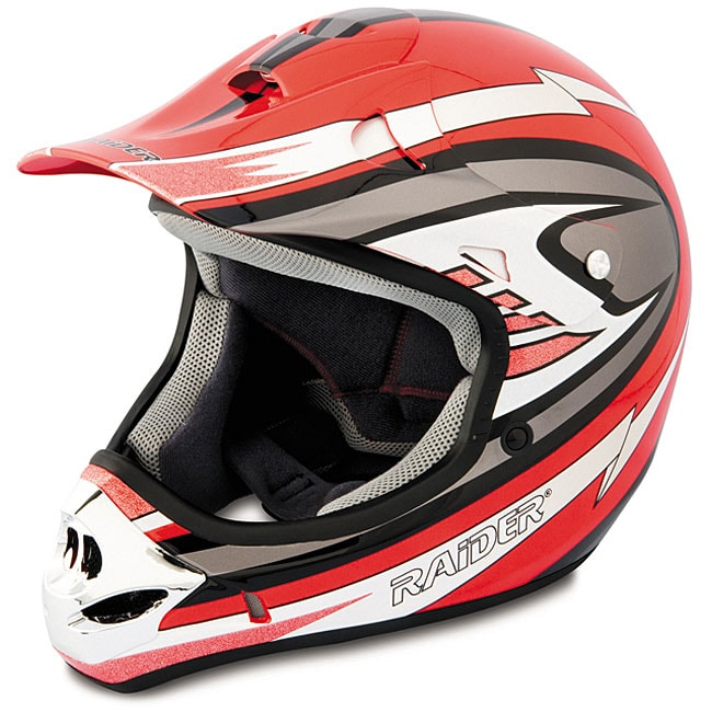 Red Adult Raider MX3 DOT approved Lightweight  : Red Adult Raider MX3 DOT approved Lightweight Thermoplastic Helmet L13206829 <strong>Italian</strong> Motorcycle Helmet from www.overstock.com size 650 x 650 jpeg 77kB